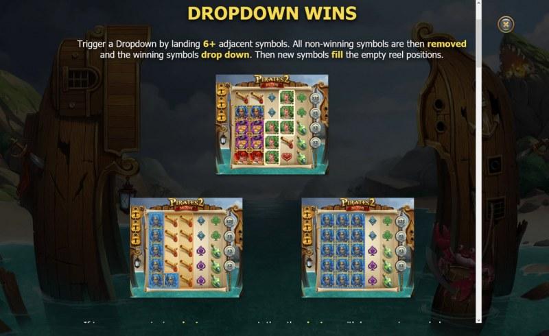 Pirates 2 Mutiny :: Dropdown Wins