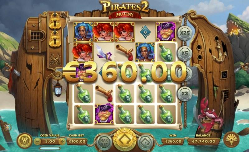 Pirates 2 Mutiny :: Big Win