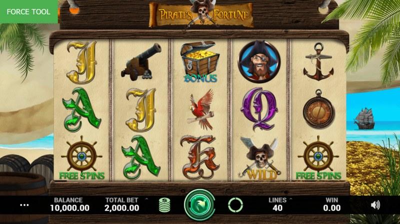 Pirates Fortune :: Main Game Board