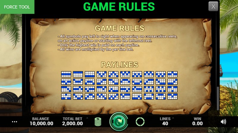 Pirates Fortune :: General Game Rules
