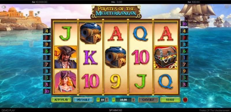 Pirates of the Mediterranean :: Main Game Board