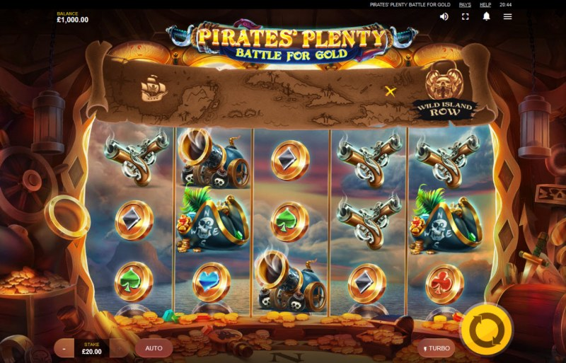 Pirates' Plenty Battle for Gold :: Main Game Board