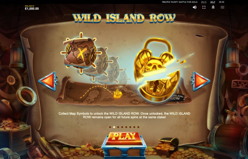 Pirates' Plenty Battle for Gold :: Wild Island Row