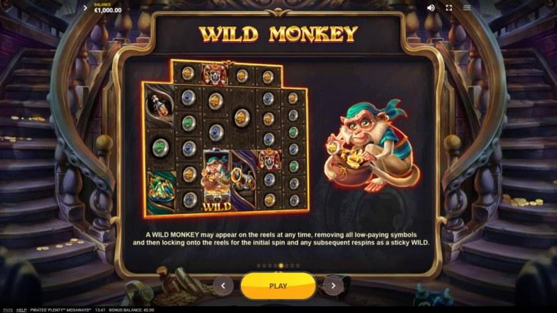 Pirates Plenty Megaways :: Wild Monkey