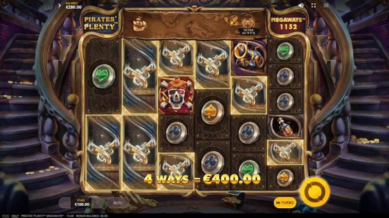 Pirates Plenty Megaways :: Big Win