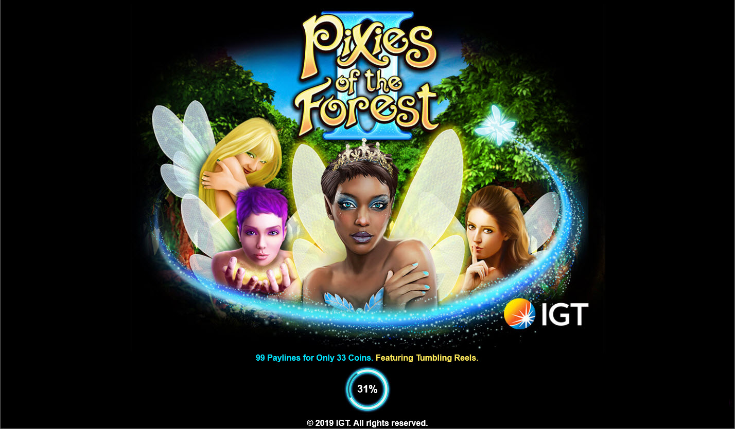 Play slots at Betfair: Betfair featuring the Video Slots Pixies of the Forest II with a maximum payout of $250,000