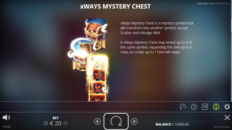 Pixies vs Pirates :: xWays Mystery Chest