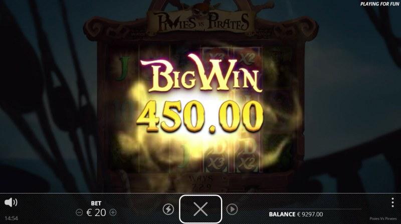 Pixies vs Pirates :: Big Win