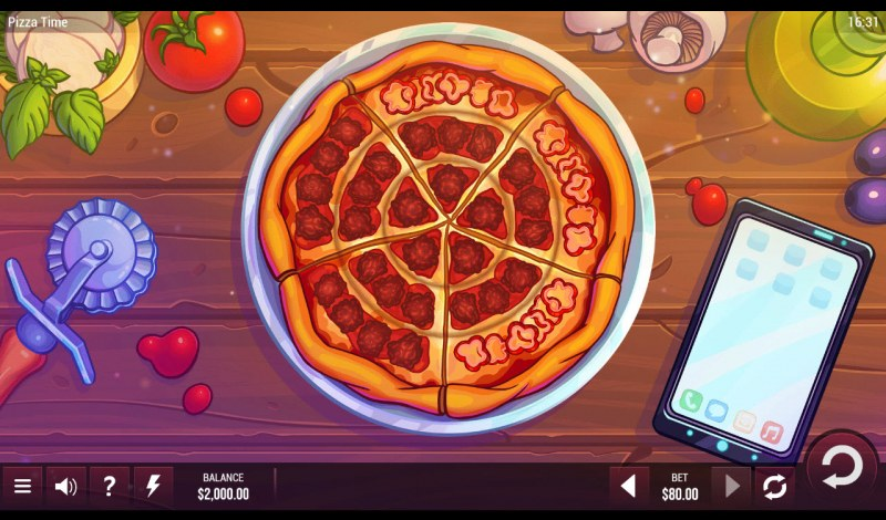 Pizza Time :: Main Game Board