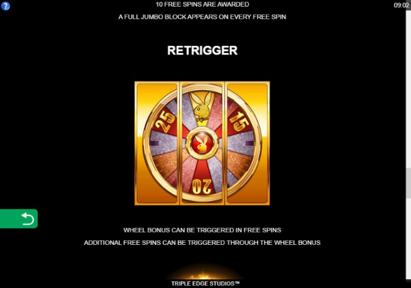 Playboy Gold Jackpots :: Retrigger