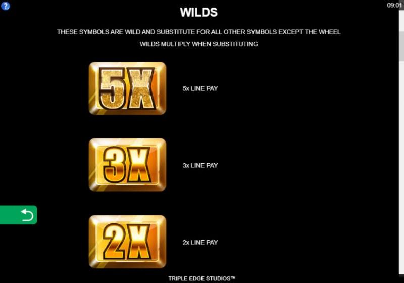 Playboy Gold Jackpots :: Wild Symbols Rules