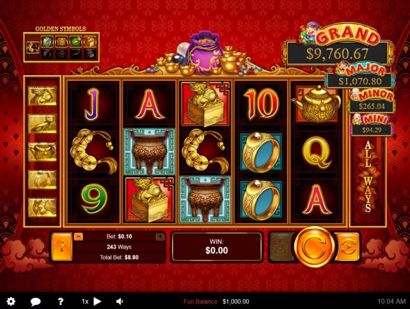 Plentiful Treasure :: Main Game Board