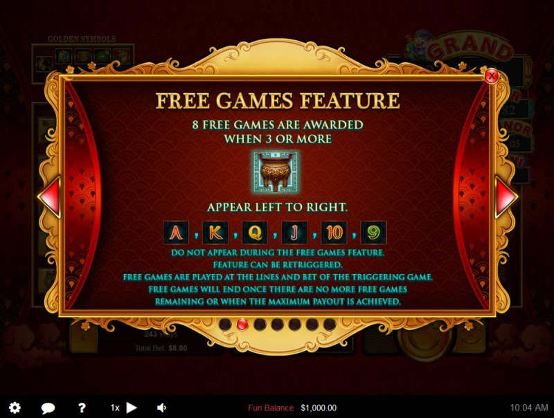 Plentiful Treasure :: Free Game Rules