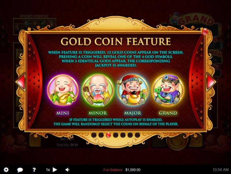 Plentiful Treasure :: Feature Rules