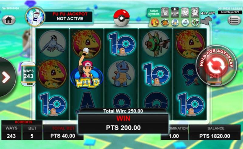 Pocket Mon Go :: Five of a kind
