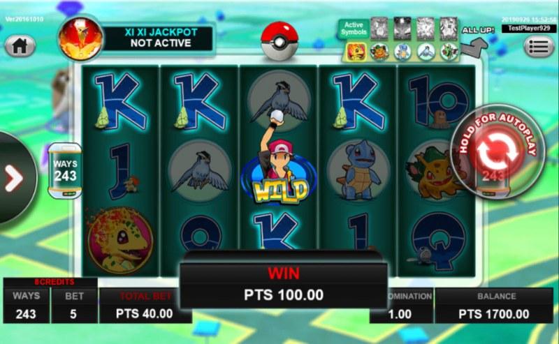 Pocket Mon Go :: Four of a kind