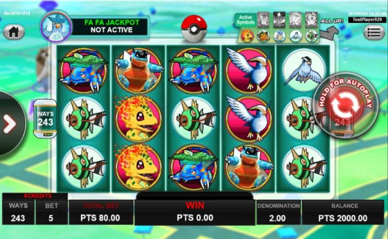 Pocket Mon Go :: Main Game Board