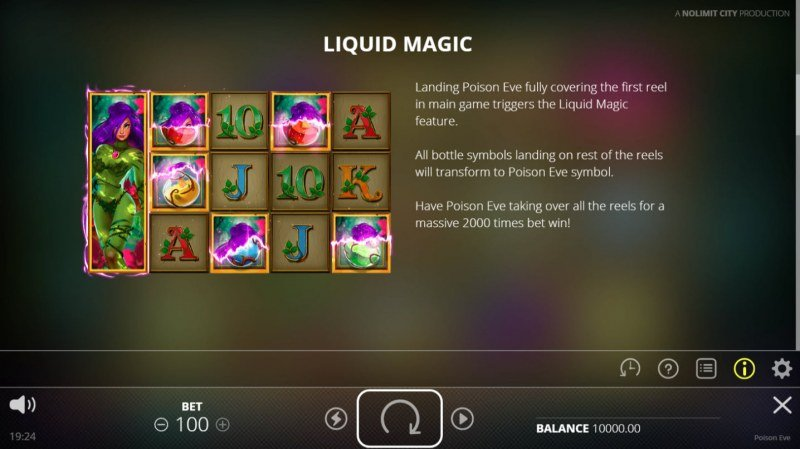 Poison Eve :: Liquid Magic Feature Rules