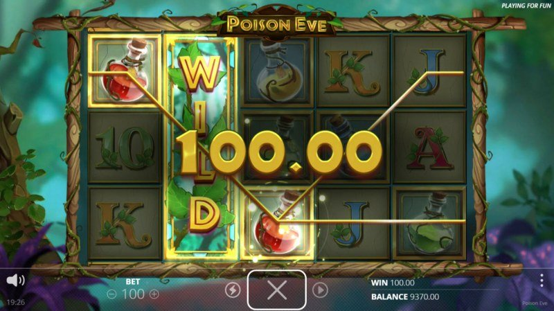 Poison Eve :: Multiple winning paylines