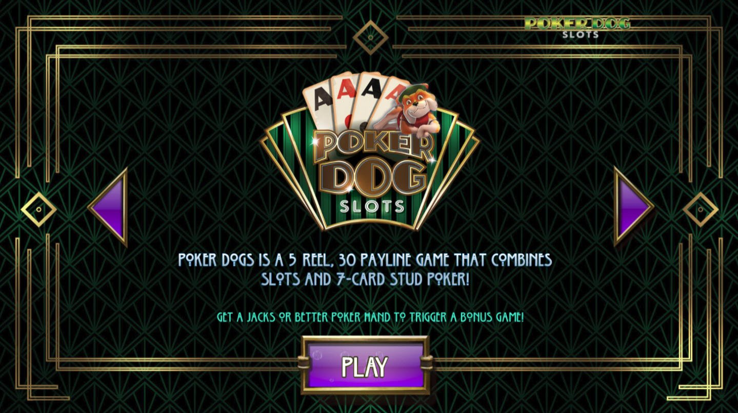 Play slots at Casino Superlines: Casino Superlines featuring the Video Slots Poker Dogs with a maximum payout of $90,000