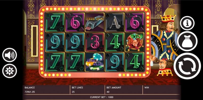Poker King :: Main Game Board