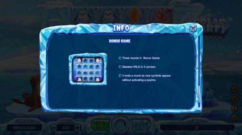 Polar Party :: Bonus Game Rules