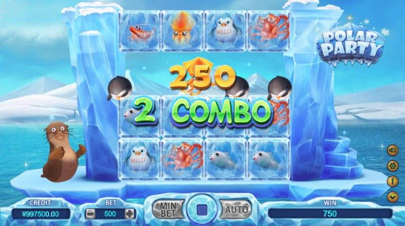 Polar Party :: Combo Win