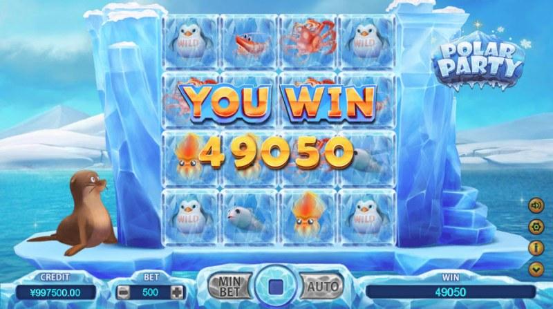 Polar Party :: Total bonus payout