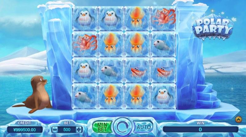 Polar Party :: Main Game Board