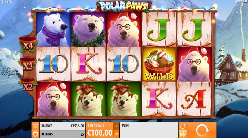 Polar Paws :: Main Game Board