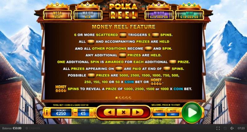 Polka Reel :: Money Reel Feature