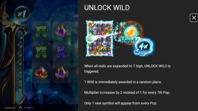 Pop Rocks :: Unlock Wild