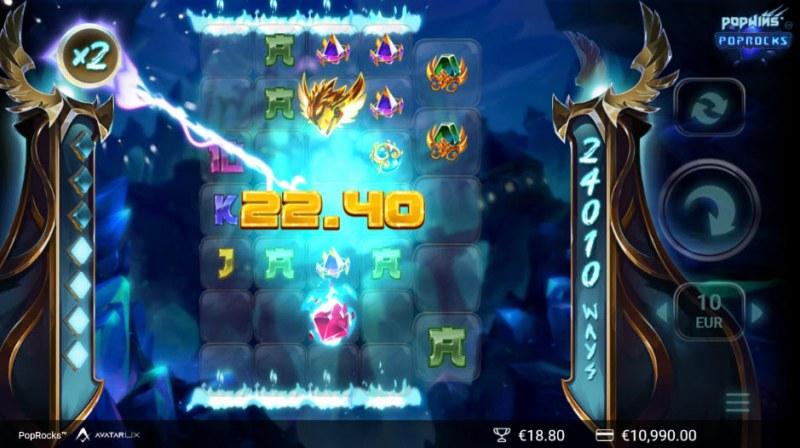Pop Rocks :: X2 multiplier awarded