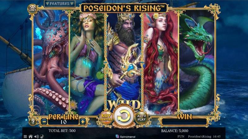 Poseidon's Rising :: Base Game Screen