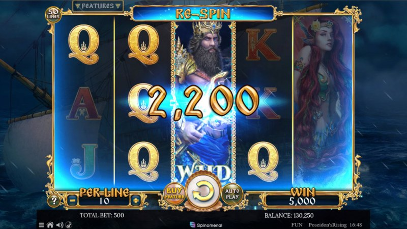 Poseidon's Rising :: Big Win