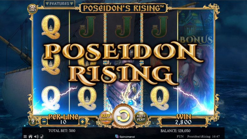 Poseidon's Rising :: Poseidon's Rising Feature - Triggered