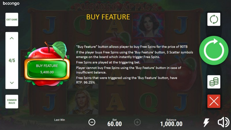 Posioned Apple 2 :: Buy Feature