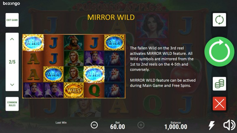 Posioned Apple 2 :: Mirror Wild