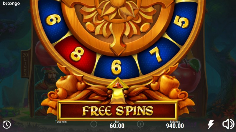 Posioned Apple 2 :: 6 free spins awarded