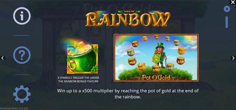 Pot O' Gold :: Rainbow Bonus Feature