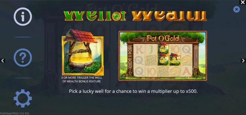 Pot O' Gold :: Wealth Bonus Feature