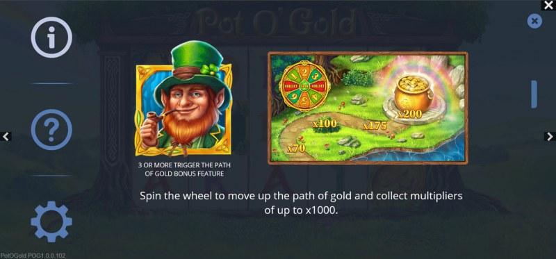 Pot O' Gold :: Gold Bonus Feature