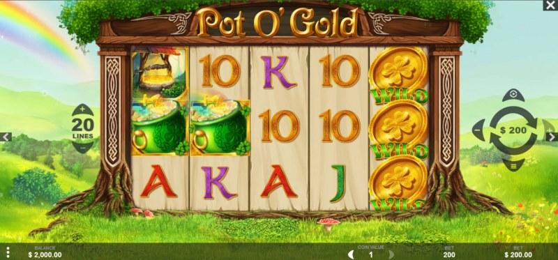 Pot O' Gold :: Main Game Board