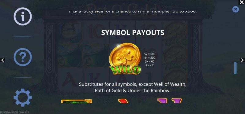 Pot O' Gold :: Wild Symbol Rules