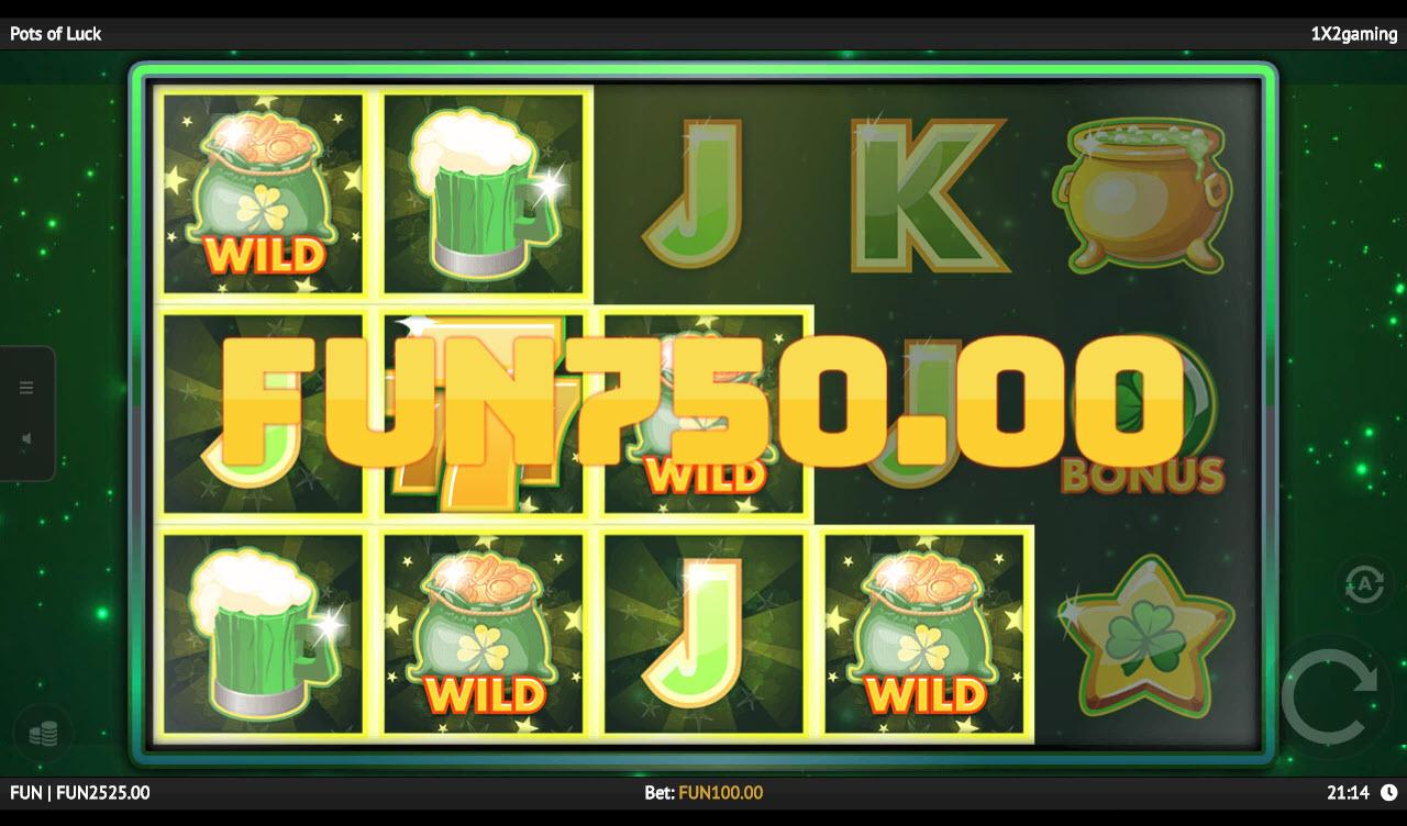 Pots of Luck :: Multiple winning paylines
