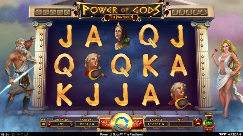 Power of Gods Pantheon :: Main Game Board