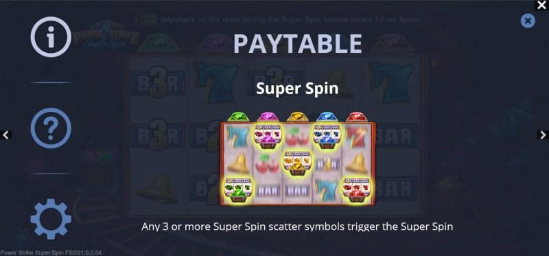 Power Strike Super Spins :: Super Spin