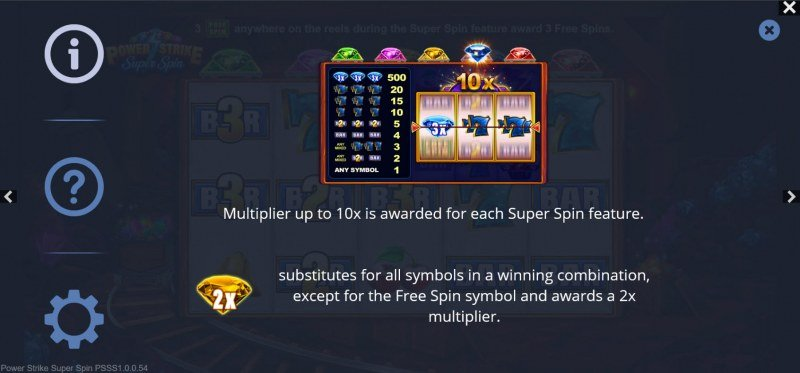 Power Strike Super Spins :: Feature Rules