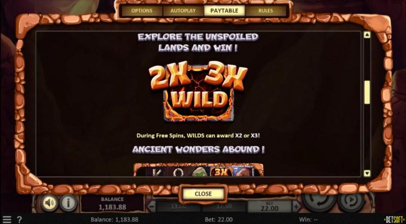 Primal Hunt :: Wild Symbols Rules
