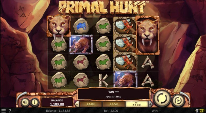 Primal Hunt :: Main Game Board
